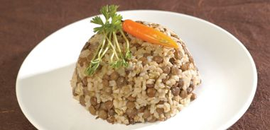Lentil and Rice Pilaf with Toasted Cumin Seeds