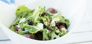 Grilled Rhubarb Salad