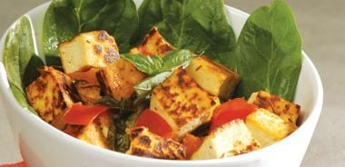South Pacific Tofu with Rooibos Sauce