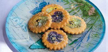 Sugared Blossom Cookies