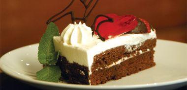 Chocolate Strawberry Gateau