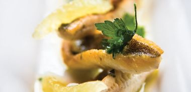 Pan-Seared Perch with Parsley Butter
