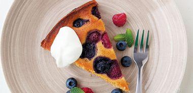 Polka-Dot Yogurt Cake