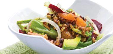 Beet, Avocado, and Grapefruit Salad