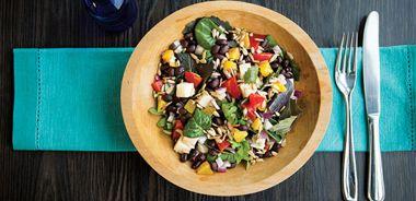 Black Bean and Jicama Salad