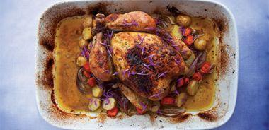Orange Bergamot Roast Chicken