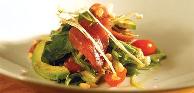Ahi Tuna and Arugula Salad