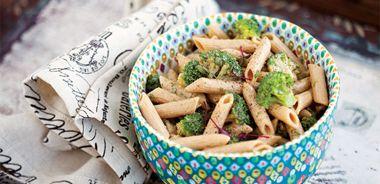 Coconutty Almond and Broccoli Pasta