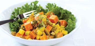 Crunchy Sweet Potato Salad