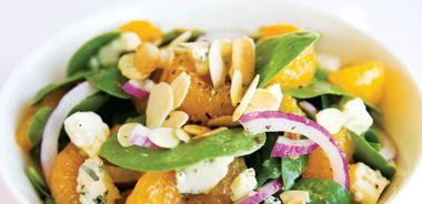 Mandarin Orange and Gorgonzola Salad
