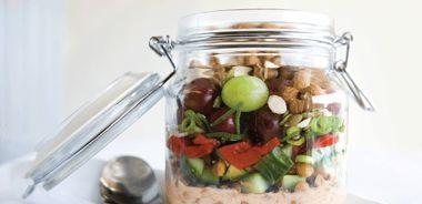 Layered Indian Summer Salad