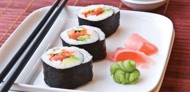 Vegetable and Tofu Maki