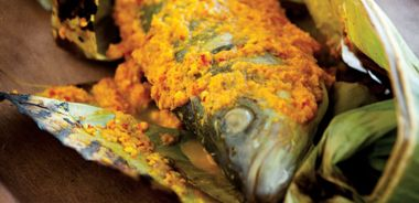 Banana Leaf BBQ Fish