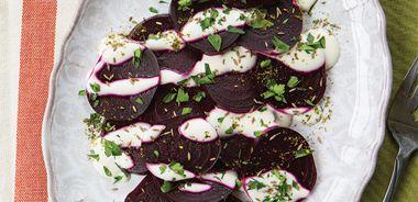 Roasted Beet, Cumin, and Yogurt Salad
