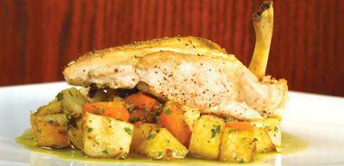 Crab-Stuffed Free-Range Chicken Breast