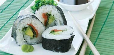 Smoked Salmon and Avocado Maki