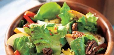 Escarole Salad with Maple Vinaigrette