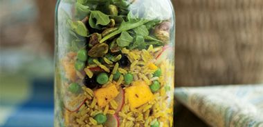 Mumbai Salad Jars