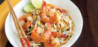 Thai Curry Shrimp Noodles