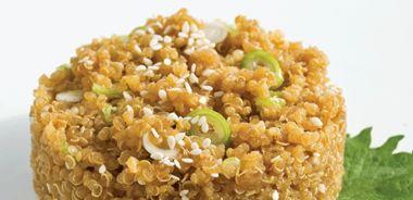 Teriyaki Quinoa (gluten-free)