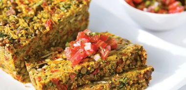 Curried-Lentil Quinoa Loaf