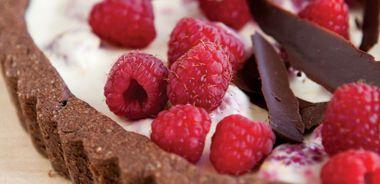 Chocolate Oat Tart