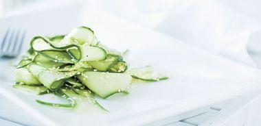 Simple Zen Cucumber Salad