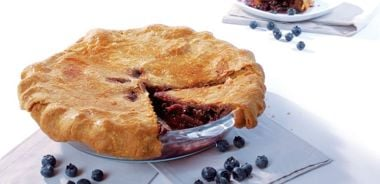 Organic Blueberry Pear Pie