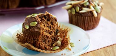 Pumpkin Buttermilk Breakfast Muffins