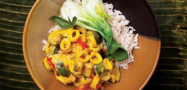 Yellow Squid Curry
