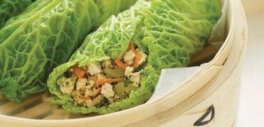 Tofu Cabbage Rolls