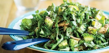 Arugula Fattoush with Spring Herbs