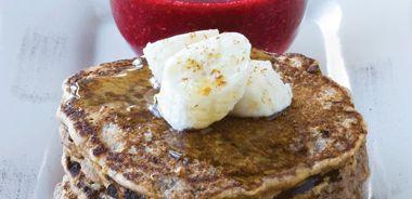 Banana Spelt Pancakes