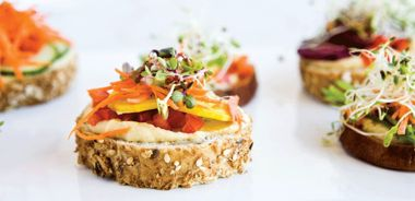 Vegetarian Party Sandwiches