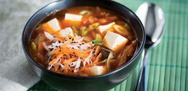 Tofu Kimchi Stew