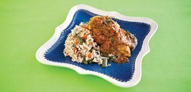 Spicy Basmati Vegetable Pulao