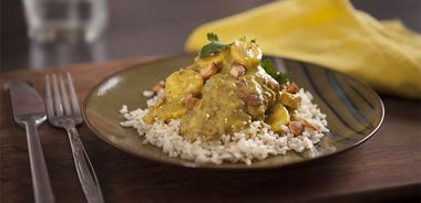 Curried Chicken with Bananas