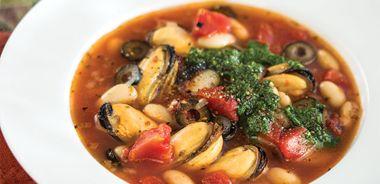 Italian Mussel Stew