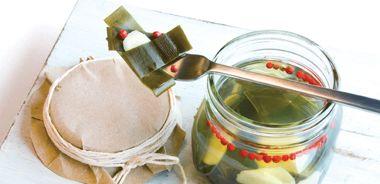 Pickled Kombu with Ginger