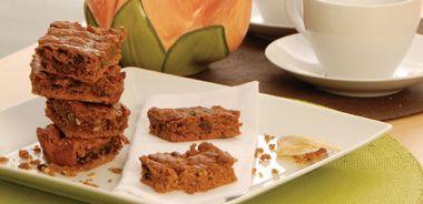 Ginger Lover's Spice Bars and Sweet Ginger Tea