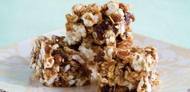 Popcorn Almond Bars