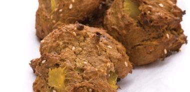 Chocolate Chip Mango Sesame Cookies