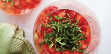 Sparkling Strawberry Salad