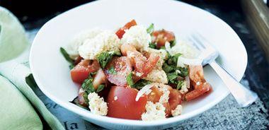 Italian Bread and Tomato Salad