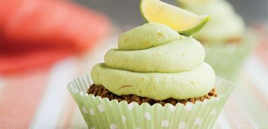 Key Lime Avocado Cupcakes