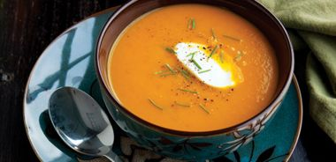 Cumin-scented Carrot Soup