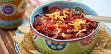 Crunchy Bean Chili