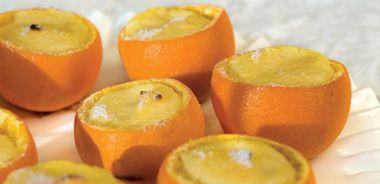 Individual Orange Soufflés
