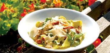 Forest Mushroom Pappardelle Pasta