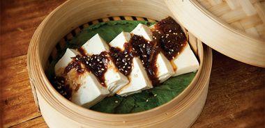 Silky Steamed Tofu